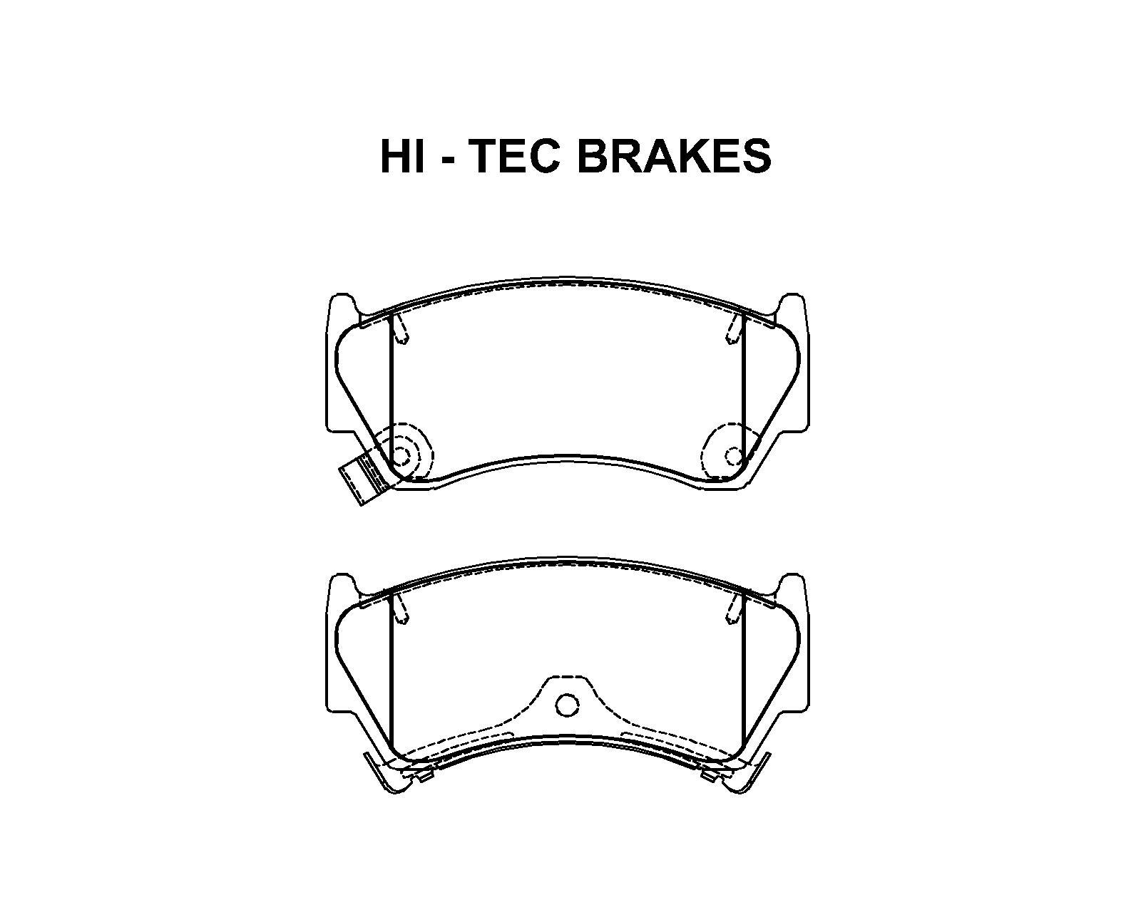FMSI: 7546-D668 Ceramic Brakes Pads. Our Part No:7546-668
