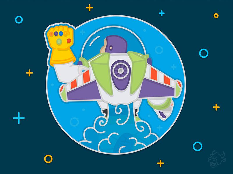 infinity buzz lightyear illustration
