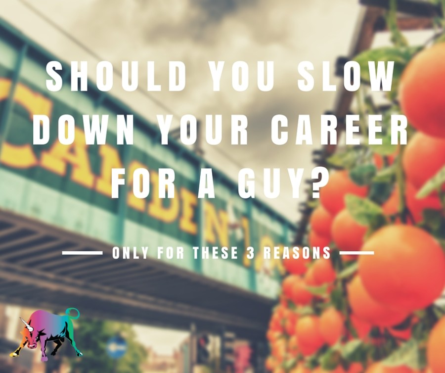 should you slow downyour career for