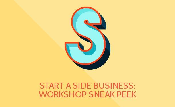 start a side business workshop sneak peek bullcon14 guest post