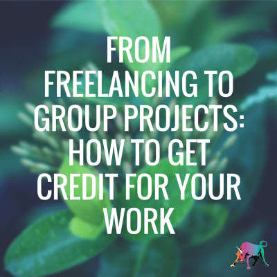 On DailyWorth: How to Get Credit for Your Work