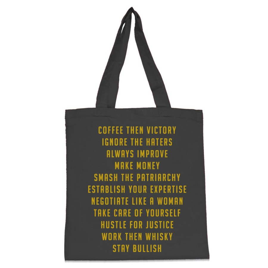 Coffee then victory tote