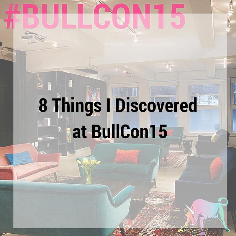 BullCon15 recap