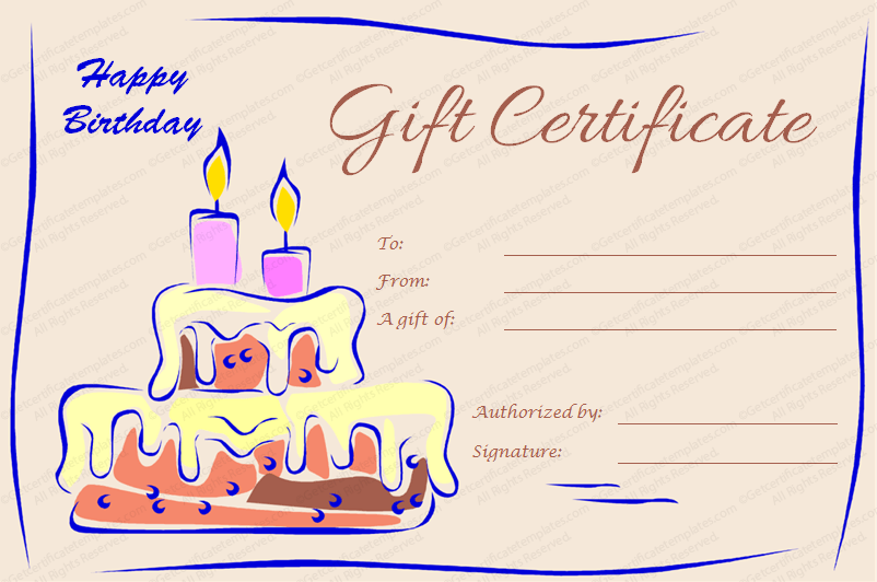 make your own gift certificates printable