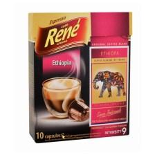 Rene Espresso Ethiopia συμβατές κάψουλες Nespresso* - 10 τεμ.