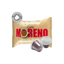 Moreno Espresso Bar συμβατές κάψουλες Nespresso * - 100 τεμ.