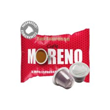 Moreno Top Espresso συμβατές κάψουλες Nespresso * - 100 τεμ.