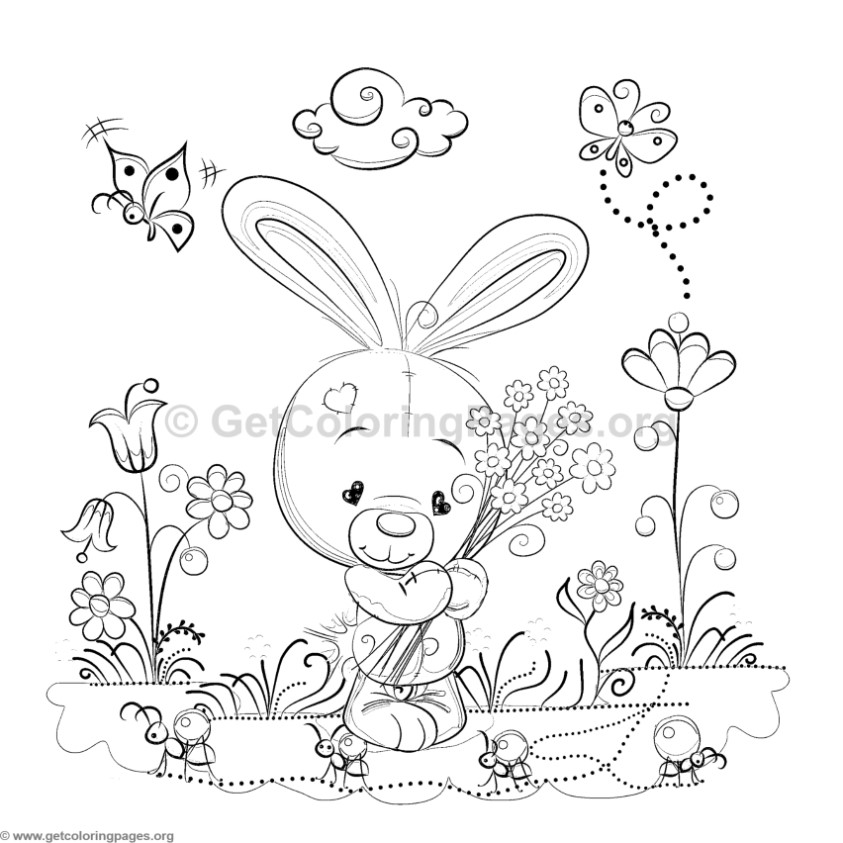 Garden Gazebo Pages Coloring Pages