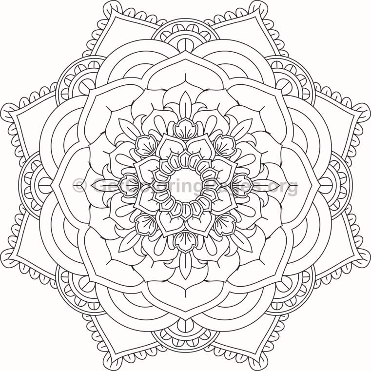 Starburst Pages Coloring Pages