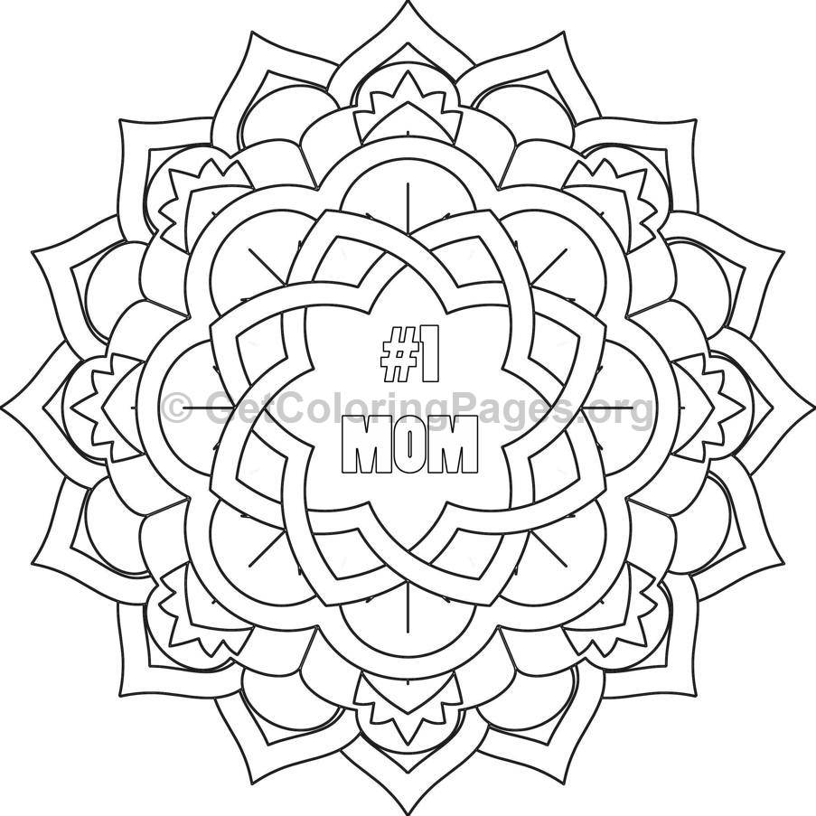 Mother's Day Coloring Pages #5