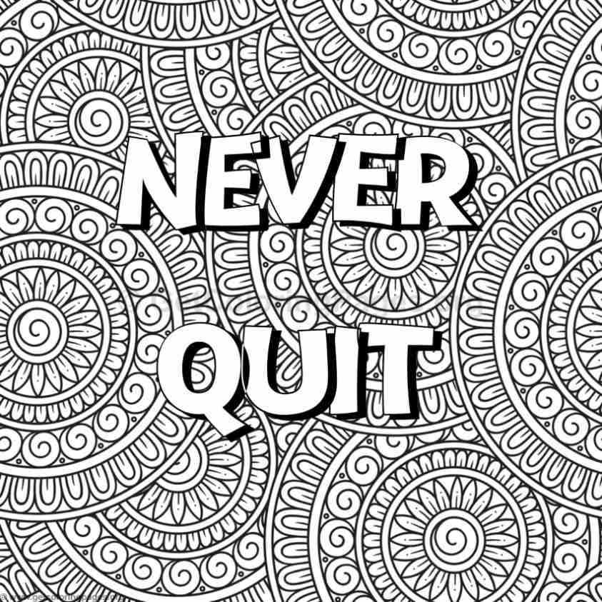 √ Inspirational Word Coloring Pages #56 GetColoringPages.org