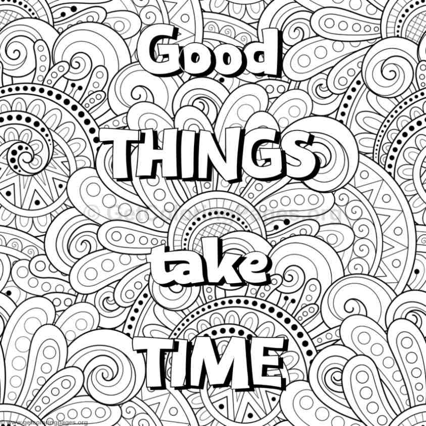 Inspirational Word Coloring Pages 57