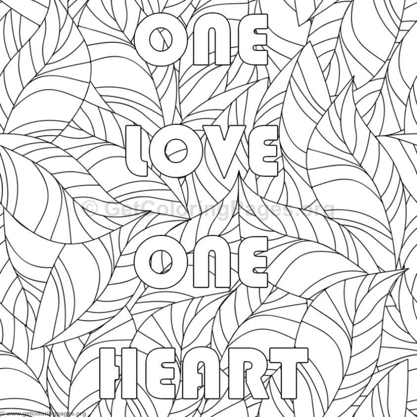 Inspirational Word Coloring Pages #81
