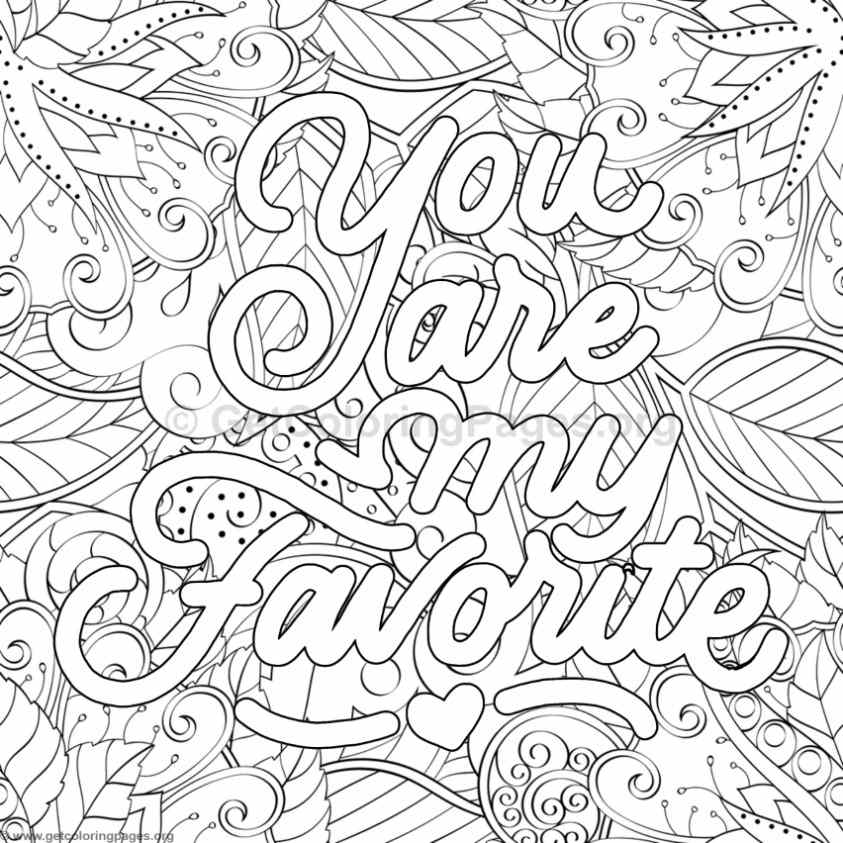 Inspirational Word Coloring Pages #33