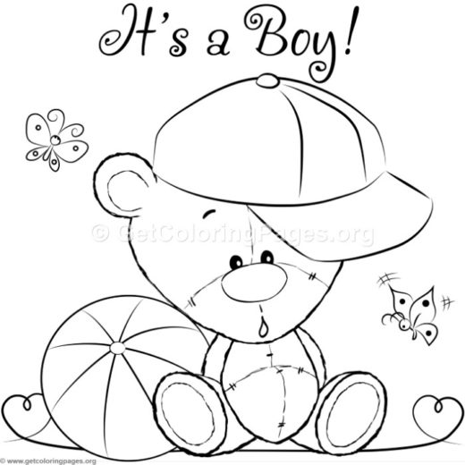 Cute Baby Tiger Animal Coloring Pages