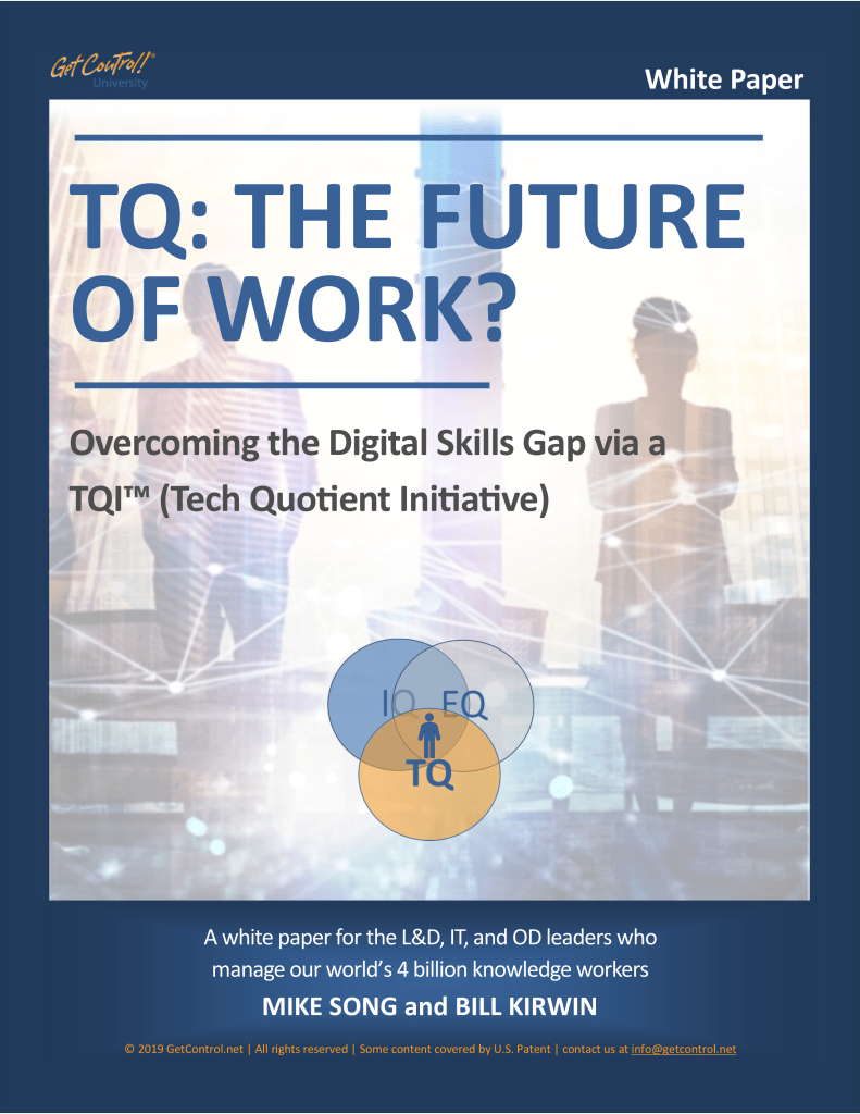 TQ: Future of Work White Paper Cover