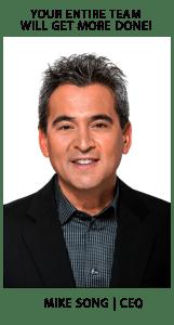 Mike Song Time Management Speaker & Expert