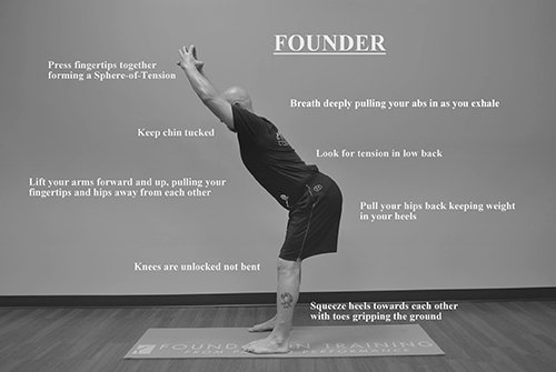 The Founder exercise instructions