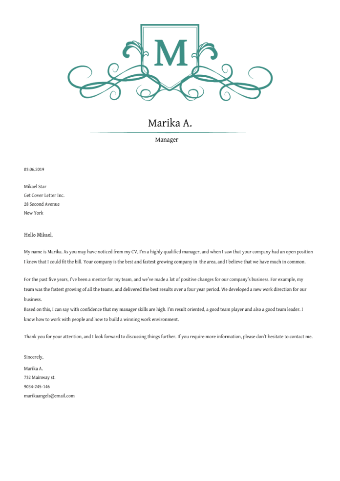 Research Scientist Cover Letter Example Writing Tips Free 2021