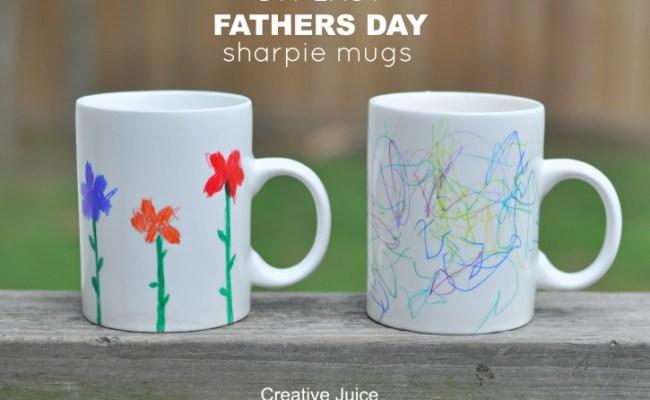 Tutorial Father S Day Gift Idea Sharpie Mugs Creative Juice