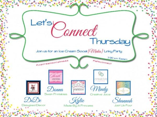Let's Connect Thursday-Facebook link party
