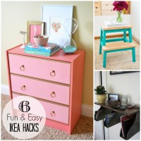 {trending tuesday} 6 Fun & Easy Ikea Hacks - Creative Juice