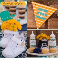 {party} Ahoy! It's a Boy - Nautical Baby Shower - Creative ...