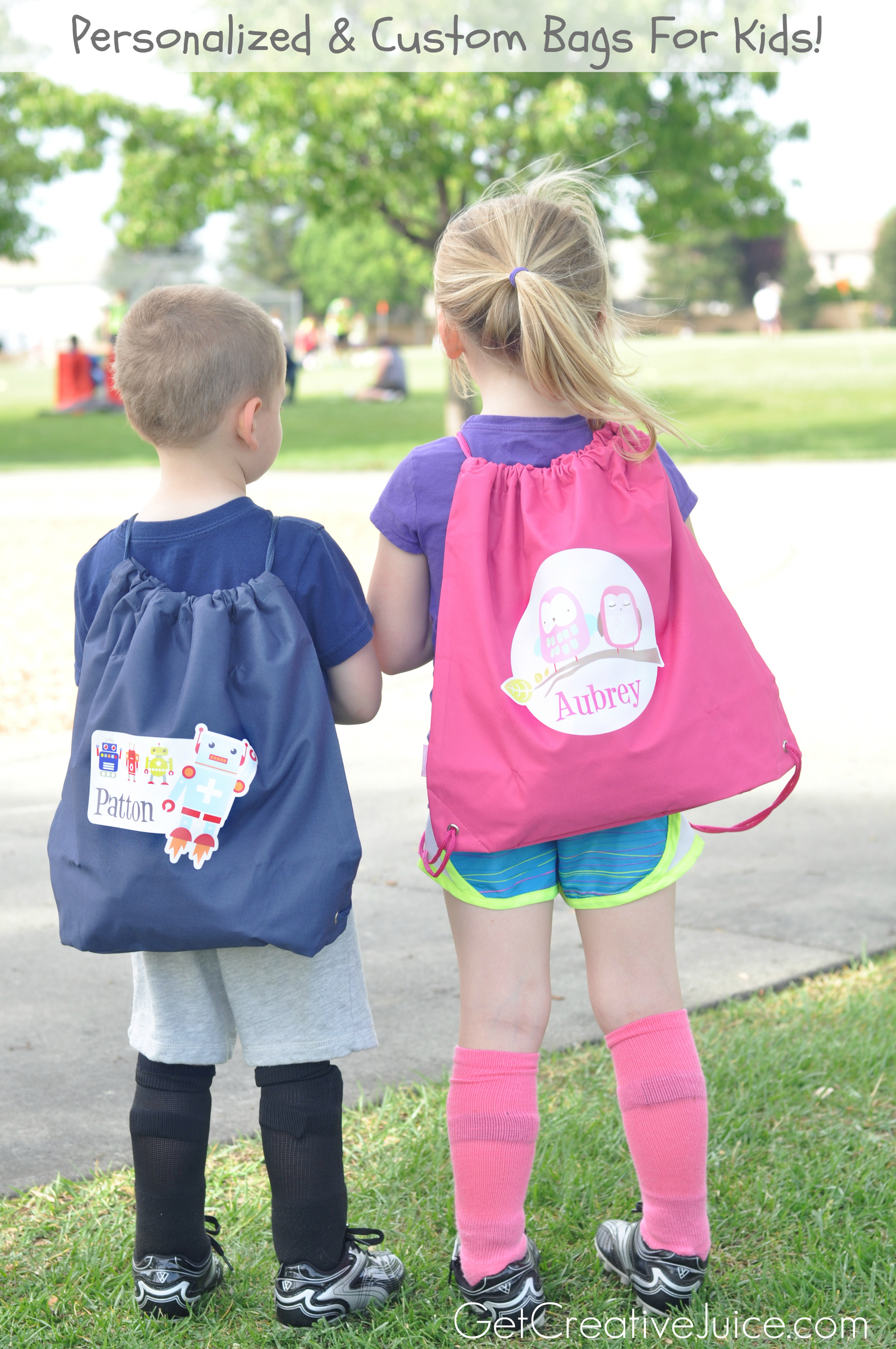 personalized bags for kids
