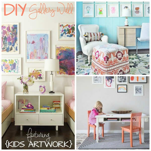 Diy Kids Art Walls - Creative Juice