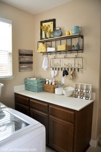 Laundry Room Organization and Storage Ideas - Creative Juice