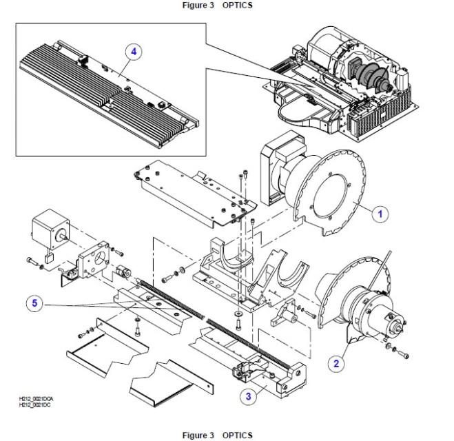KODAK/Carestream POC 120/140 Parts