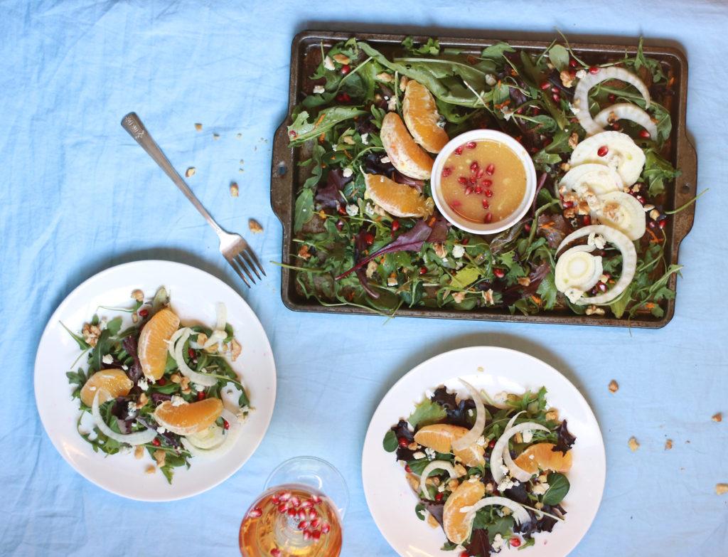 Healthy Winter Citrus Salad