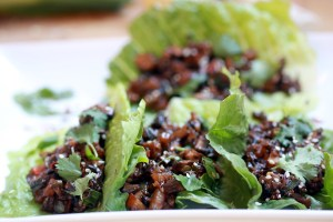 You won't believe how easy these vegan mushroom lettuce cups are. Only a few ingredients and ready in about 15 minutes. Just like Chinese takeout, but much healthier!