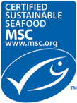 Marine Stewardship Council (MSC) certification label.