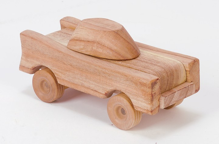 Tree blocks crash car is a sustainable, eco friendly toy made of natural wood.