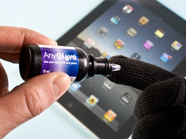 AnyGlove Turns Gloves Into Touchscreen Gloves