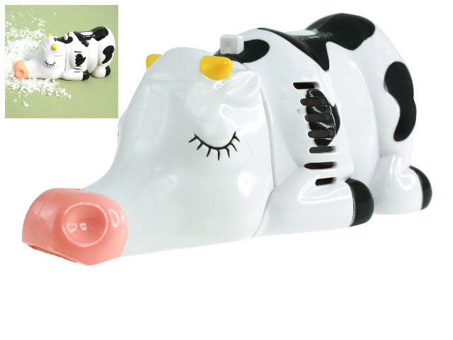 Miniature Cow Tabletop Vacuum