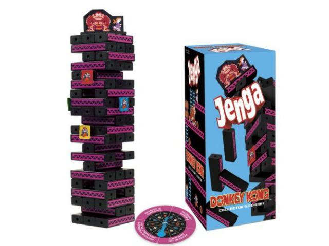 Jenga Donkey Kong Game