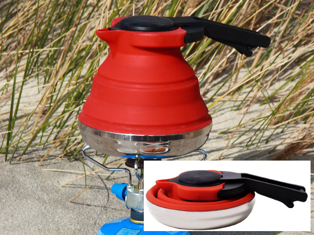 Collapsible Silicone Tea Kettle
