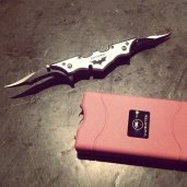 Batman Twin Blade Batarang