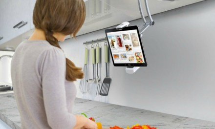 CTA Digital 2-In-1 Kitchen Mount Stand for Tablets