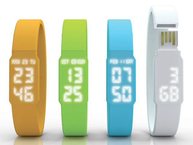 USB Watch with Flash Drive