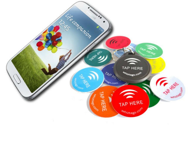 NFC tags 10 Pack plus Keychain