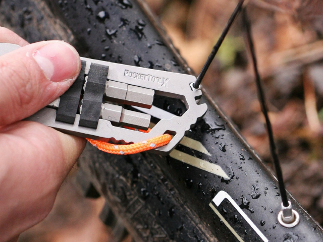 PocketToolX Mako Titanium Bike Tool