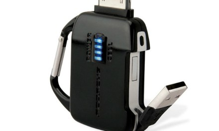 flipCHARGE Burst Emergency Backup Battery and Charger