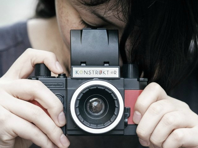 Lomography Konstruktor DIY 35mm Camera Kit