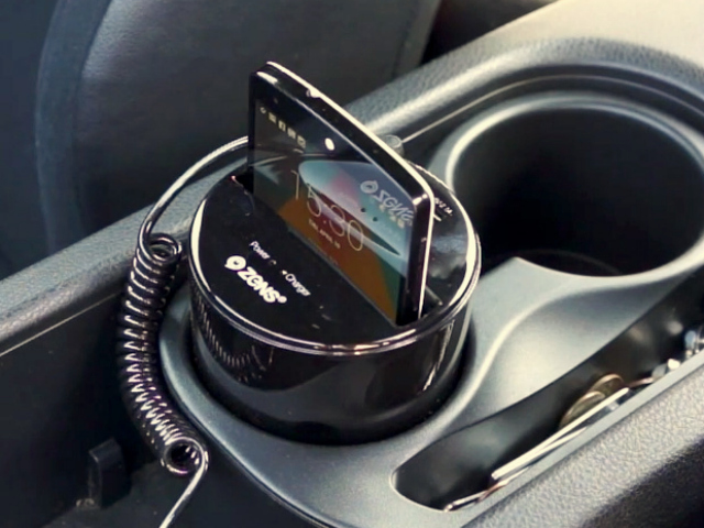 ZENS Qi Cup Holder Wireless Charger