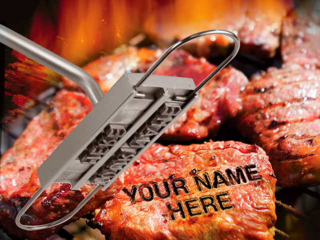 Brand Your Meat With The BBQ Branding Iron