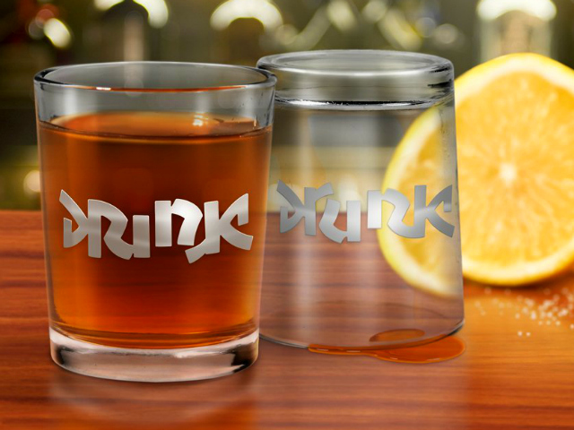 Fred & Friends Bottoms Up Shot Glasses