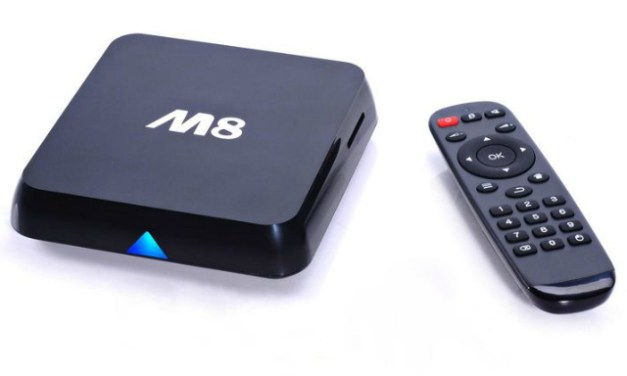 M8 TV Box Turns Your TV into an Android Smart TV